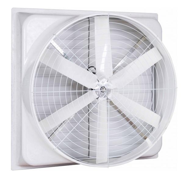 quạt thông gió nhà xưởng composite
