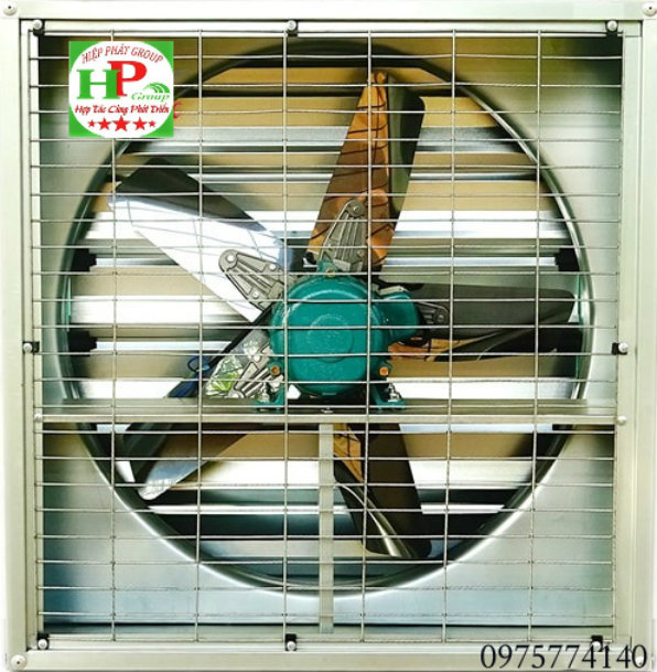 quạt thông gió vuông KT 400x400